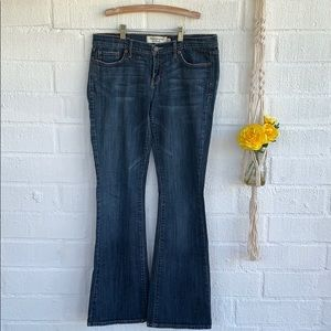 Abercrombie & Fitch Stretch Madison Flare Jeans